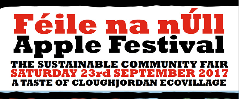 Féile na nÚll Apple Festival – Saturday 23rd of September 2017