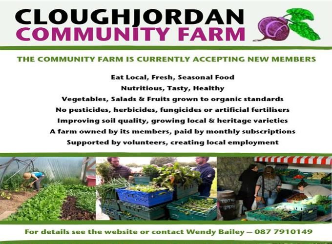 Cloughjordan Community Farm is open for new members