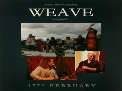 WEAVE (Farm Fundraiser) Sat 17th Feb 2018