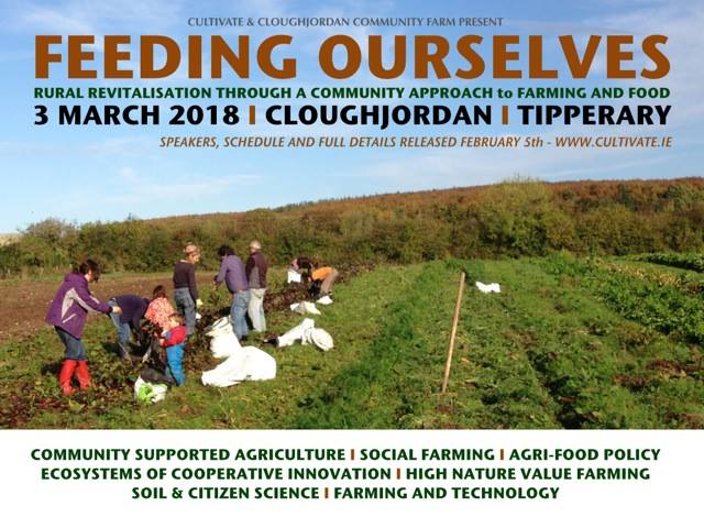 Feeding Ourselves, rescheduled to 23rd May 2018