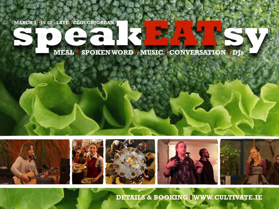 SpeakEatsy: A Convivial Evening – Sat 7th April
