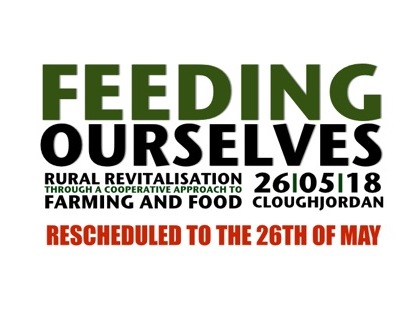 Feeding Ourselves event rescheduled to 23rd May 2018, SpeakEATsy rescheduled to 07th April 2018