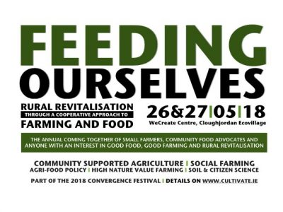 Feeding Ourselves: Rural Revitalisation through a Cooperative Approach to Farming and Food – 26th & 27th May 2018