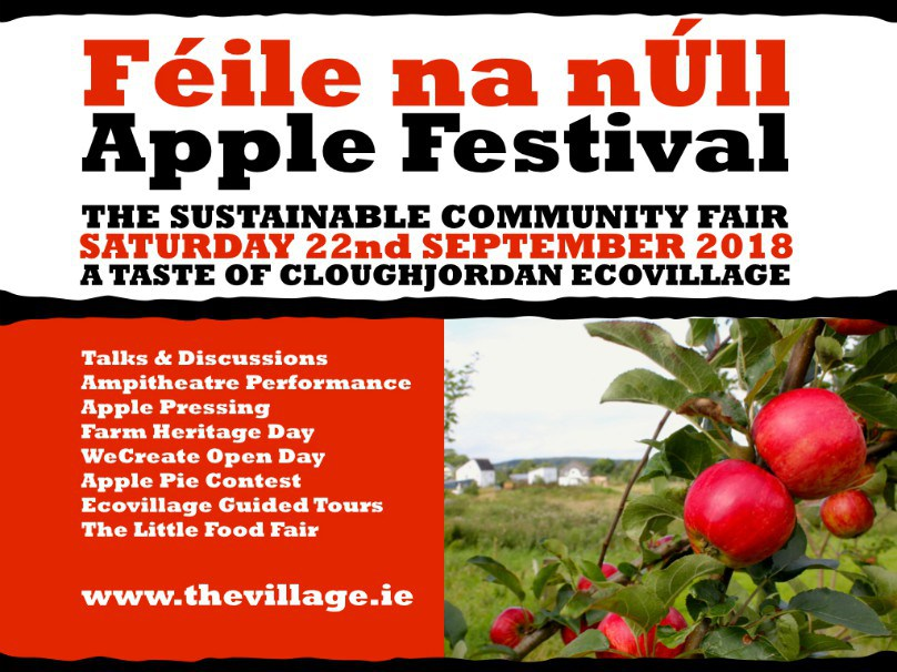 Feile na n'Ull, Apple Festival – 22nd September 2018