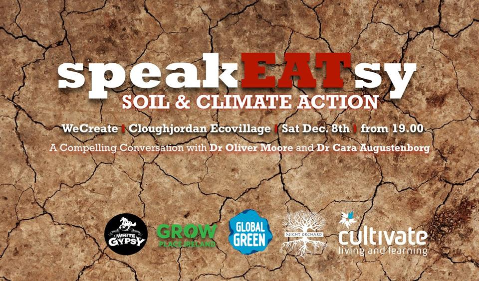 SpeakEATsy: Soil & Climate Action, Sat 8th December