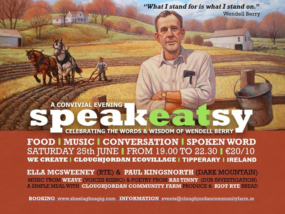 SpeakEATsy – 25th June 2016