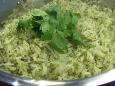 Green Coriander Seeds recipe