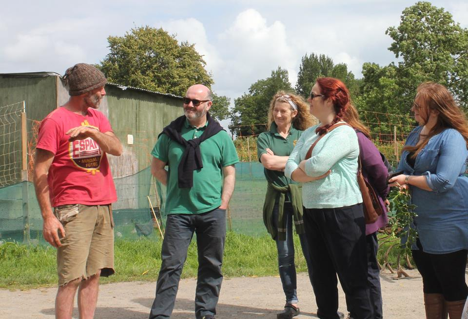 Irish Food Writers Guild visit the Eco Village
