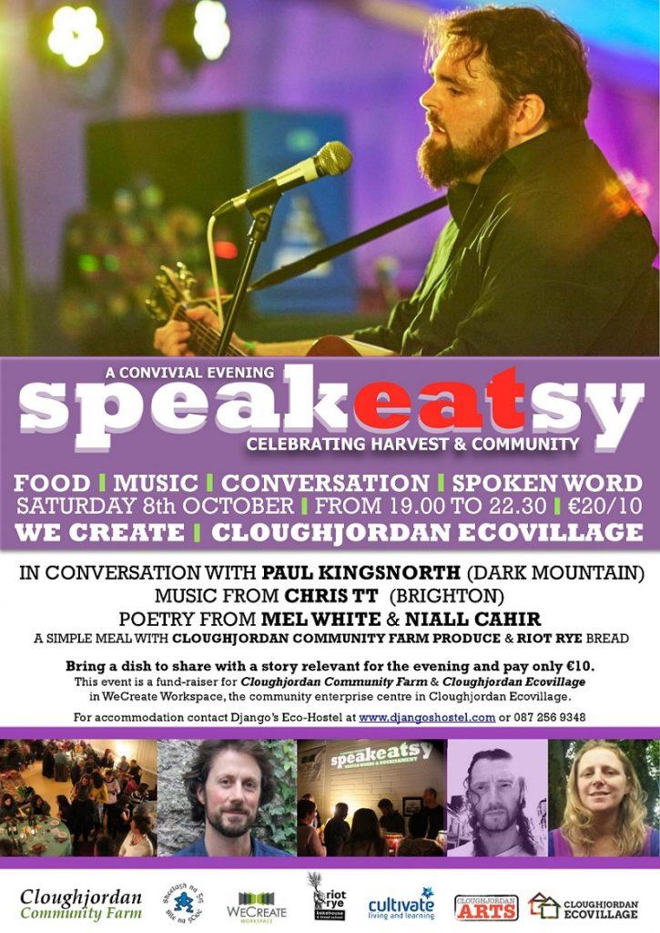 SpeakEATsy 8th October 2016 – Celebrating Harvest and Community