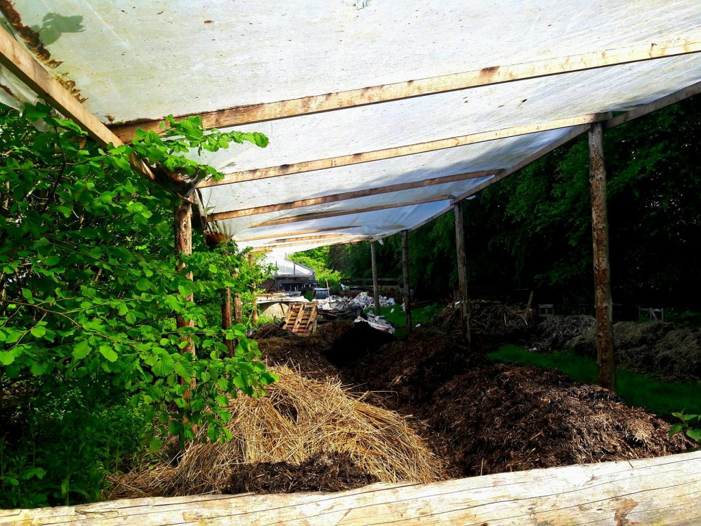covered manure