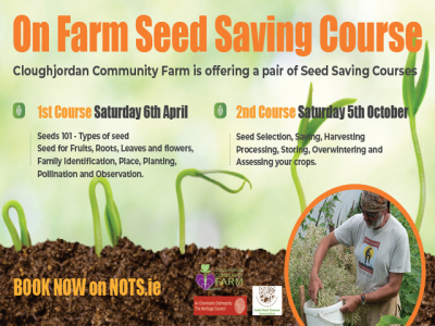 On Farm Seed Saving Course – 6th April, 5th October 2019