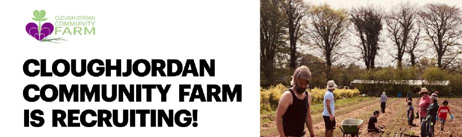 Cloughjordan Community Farm horticulture team leader