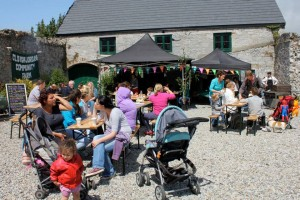 Farm festival at coachhouse